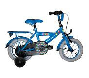 Studio 100 Bumba 12 Inch 21,5 cm Boys Coaster Brake Blue(Wheel size 12 Inch)