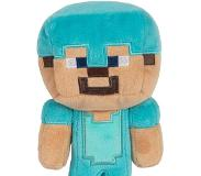 Minecraft Pehmolelu Explorer Diamond Steve 18 cm