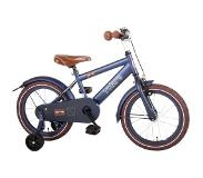 Volare Urban City 16 Inch 25,5 cm Boys Coaster Brake Matte blue(Wheel size 16 Inch)
