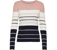 ONLY Natalia Stripe Pullover Rose Smoke