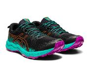 Asics Fuji Trabuco Lyte Shoes Women, black/baltic jewel US 8 | EU 39,5 2021 Polkujuoksukengät