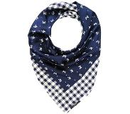 WEEKEND MaxMara DANTE SCARF Huivi blu One Size
