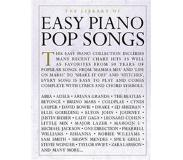 Book Library of easy piano pop songs