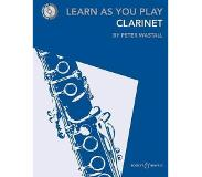 Book Learn As You Play Clarinet
