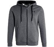 Under Armour RIVAL FITTED FULL ZIP Collegetakki carbon heather M