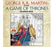 Book The Official a Game of Thrones Coloring Book