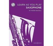 Book Learn As You Play Saxophone