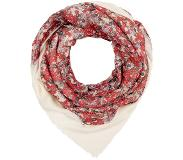 MAX&Co. ABITARE FLORAL SQUARE SCARF Huivi ivory One Size