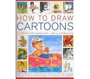 Book How to Draw Cartoons: A Step-By-Step Guide with 1000 Illustrations