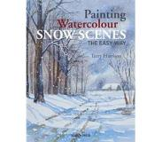 Book Painting watercolour snow scenes the easy way