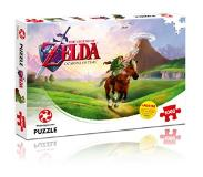 Winning Moves Palapeli: The Legend of Zelda - Ocarina of Time (1000 pieces) LAUTA