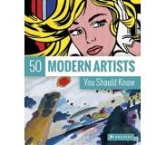 Book 50 Modern Artists You Should Know