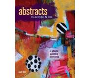 Book Abstracts in Acrylic & Ink