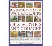 Book A Masterclass in Watercolours, Oils, Acrylics and Gouache