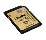 Kingston SDHC/SDXC Class 10 UHS-I 64GB flash-muisti Luokan 10