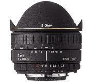 Sigma Fisheye 15mm f/2.8 EX DG Diagonal Fisheye for Canon EOS Musta