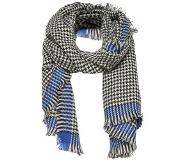 Only ONLSYDNEY WEAVED CHECK SCARF Huivi surf the web/black/cloud dancer One Size
