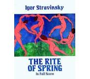 Book Rite of Spring in Full Score