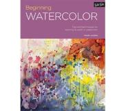 Book Portfolio: Beginning Watercolor: Tips and Techniques for Learning to Paint in Watercolor