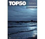 Book Top 50 Ballads: Easy Piano
