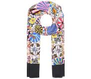 PS by Paul Smith ENSO FLORAL SCARF Huivi pale pink One Size