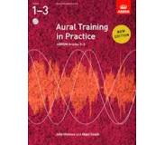 Book Aural Training in Practice, ABRSM Grades 1-3, with 2CDs