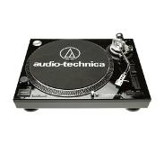 Audio-Technica AT-LP120-USBHC Direct drive audio turntable Musta