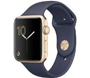 Apple W. S2 42MM GLD ALU SPORT MID.BLU