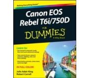 Book Canon EOS Rebel T6i / 750d for Dummies