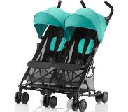 Britax Sisarusrattaat Holiday Double, Aqua Green - turkoosi