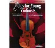 Book Solos for Young Violinists, Vol 4: Selections from the Student Repertoire
