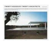 Book Twenty Houses by Twenty Architects
