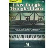 Book How to Play Boogie Woogie Piano