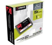 "Kingston Technology SSDNow KC400 1TB + Upgrade Kit 1000GB 2.5"" Serial ATA III"