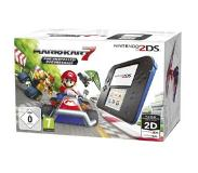 Nintendo 2DS Console - Black & Blue with Mario Kart 7 (Download) /Nintendo 3DS