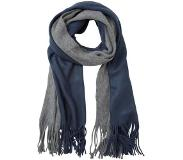 Only ONLPETRA KNIT LONG SCARF Huivi grey melange/mood indigo One Size