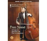 Book Simandl - 30 Etudes for Double Bass: Music Minus One Double Bass