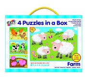Galt 4 Puzzles in a Box - Maatila