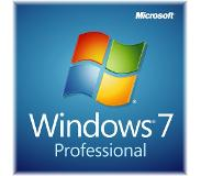 Microsoft Windows 7 Professional, w/SP1, OEM, 64-bit, 1pk, DVD, FIN