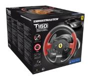 Thrustmaster T150 Force Feedback - Ferrari Edition ratti/poljin -yhdistelmä, PS4/PS3/PC