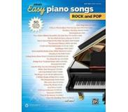 Book Alfred's Easy Piano Songs -- Rock & Pop