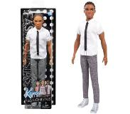 Barbie Black & White Ken - Fashionistas - Barbie docka - NYHET