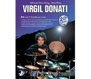Book Ultimate Play-Along Drum Trax Virgil Donati: Jam with 17 Virgil Donati Tracks, Book & 2 CDs