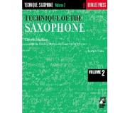 Book Technique of the Saxophone - Volume 2: Chord Studies