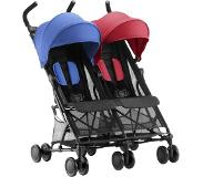 Britax Holiday Double Sisarusrattaat, Red/Blue
