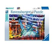 Ravensburger Ravensburger, New York Kollage, 2000 Bitar Pussel