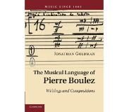 Book The Musical Language of Pierre Boulez