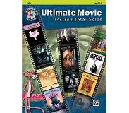 Book Ultimate Movie Instrumental Solos for Strings: Cello, Book & CD