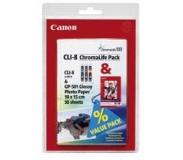 Canon Ink Tank CLI-8/ Paper GP-501 Kit