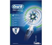 Oral-B PRO 4000 Aikuinen Pyörivä värähtelevä hammasharja Sininen dd02b7f5af52b